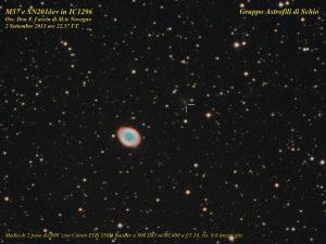 M57-SN2013ev in IC1296