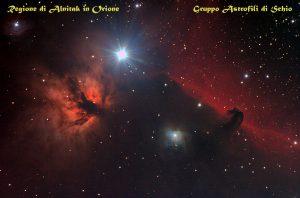 NGC2024 e IC434