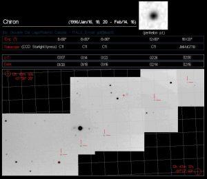 Asteroide 2060 Chiron o Cometa 95P/Chiron