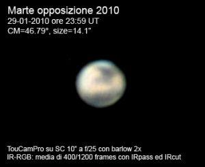 Marte in Opposizione 2010