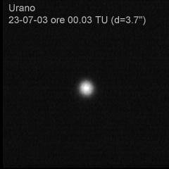 Urano con Webcam